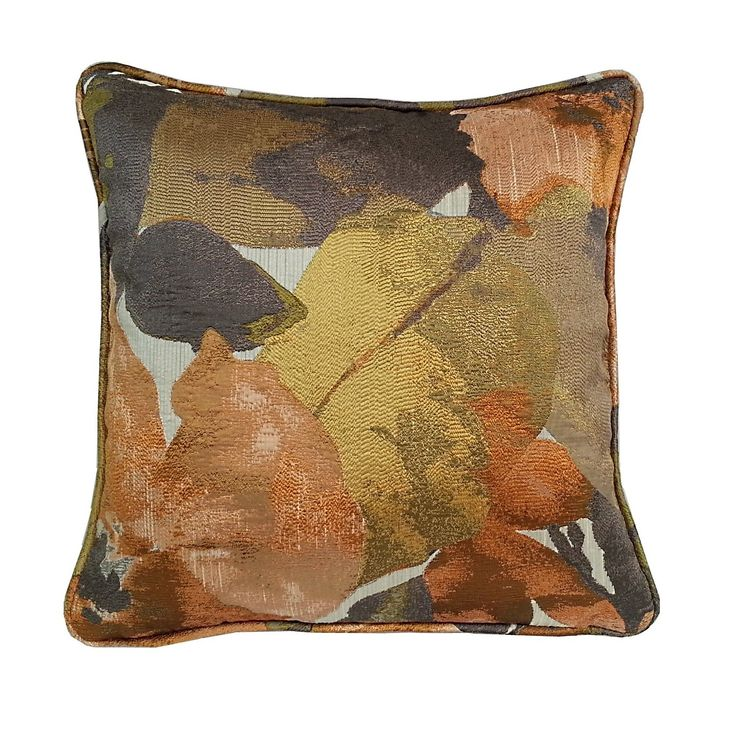 Fiji Floral Throw Pillow