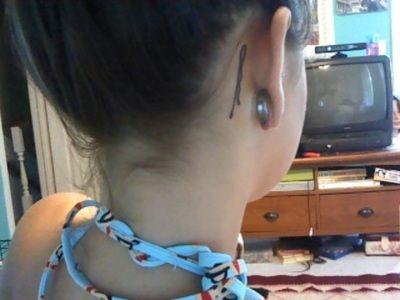 bobby pin, tattoo