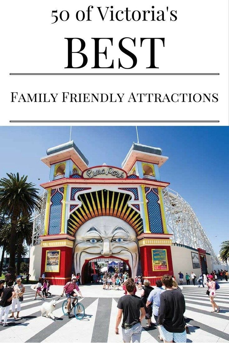 Need something fun to do NOW or on your next family holiday in Victoria, Australia? Here's the ultimate guide with 50 of Victoria's best family friendly attractions.