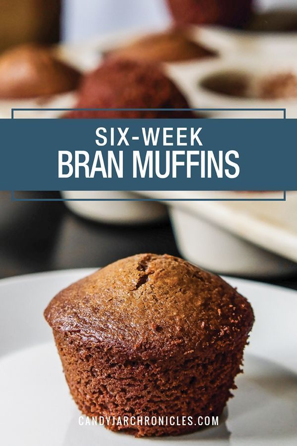Six Week Bran Muffins Recipe Bran Muffins Raisin Bran Muffins Bran Muffin Recipes