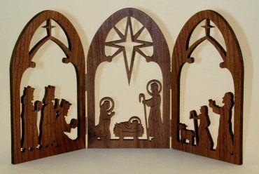 Amazon com nativity sets google search xmas nativity for Nativity cut out patterns wood