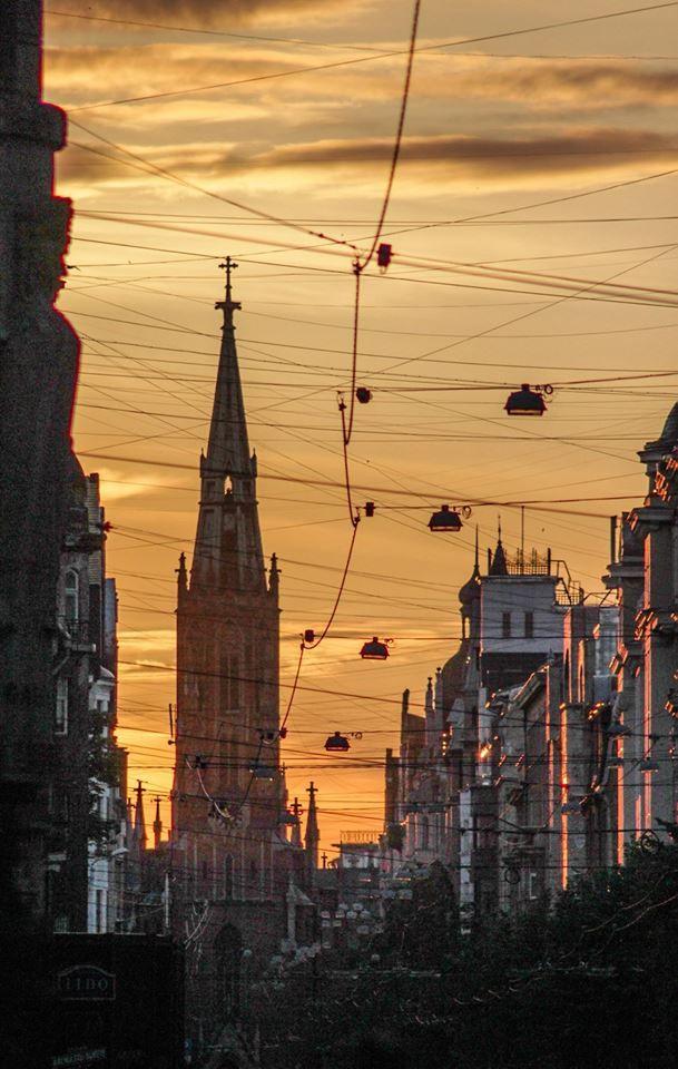 Riga definitely has the most beautiful evenings!