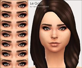 I'm on the hunt for the perfect Sims 4 lashes