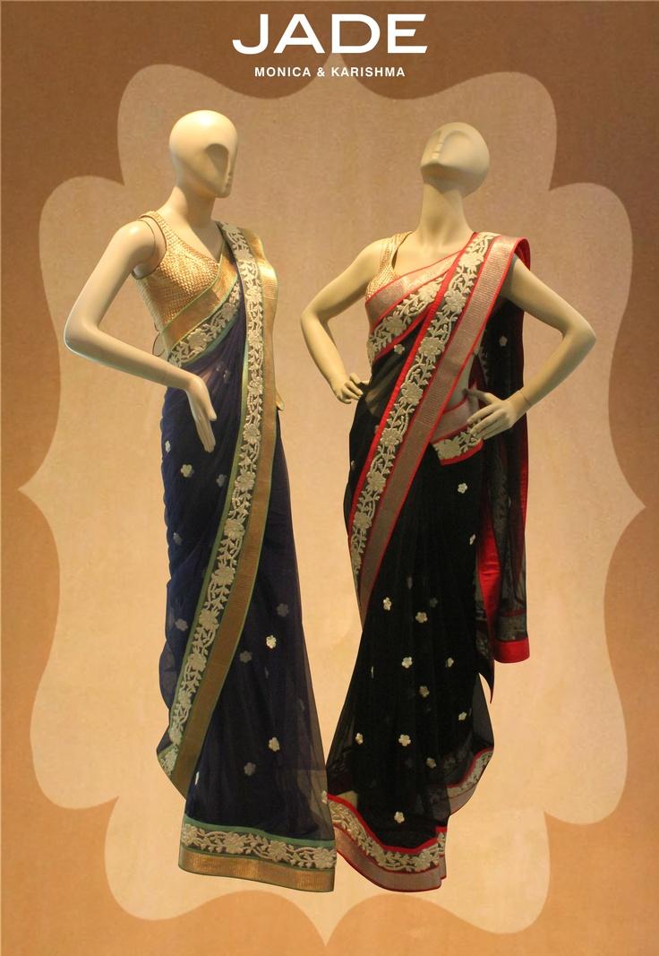 Sensual saris! #JADEbyMK #sari #vintage #lace #classic #India
