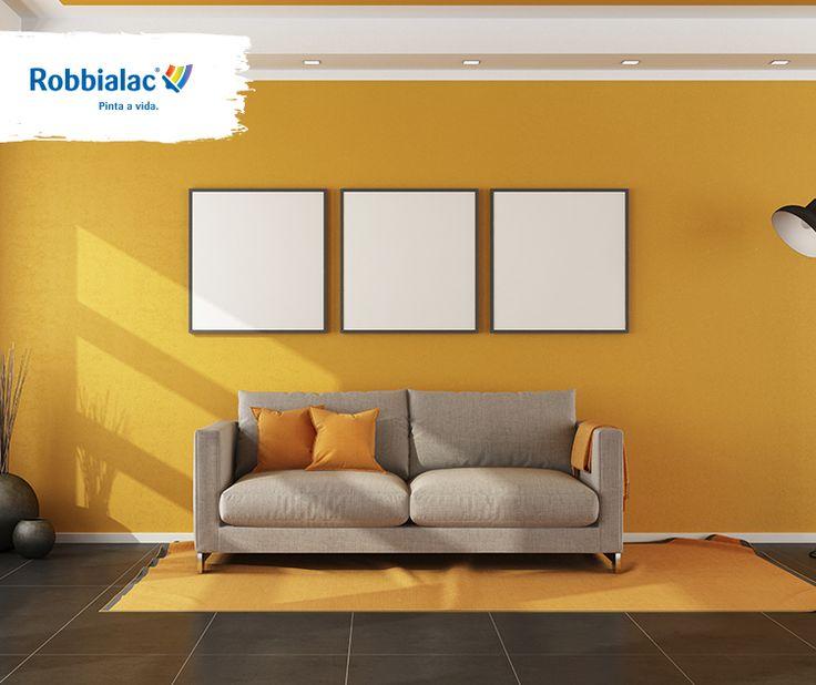 Pinte uma parede de cor diferente das restantes, vai fazer com que a divisão da casa pareça mais espaçosa!