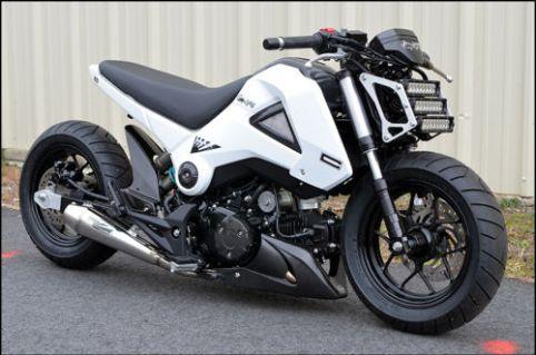 Honda Grom - Right Side