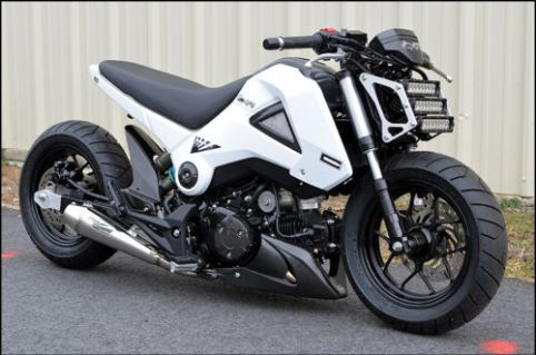 Honda Grom - Right Side