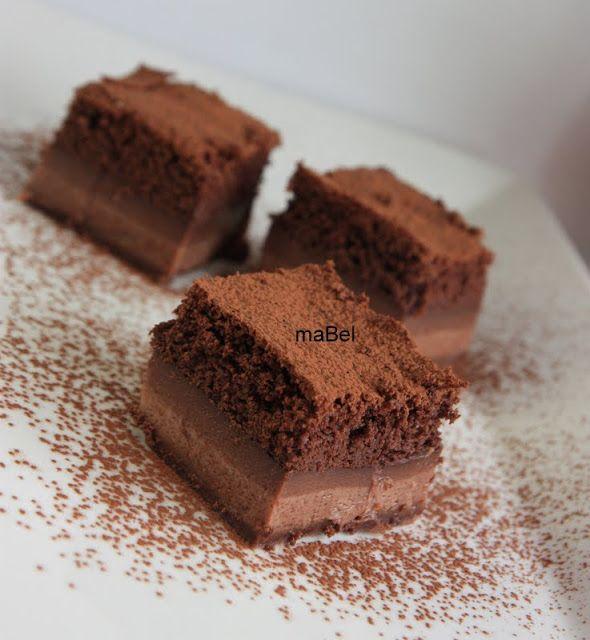 Tarta magica de chocolate e ideas de sabores ~ Pasteles de colores