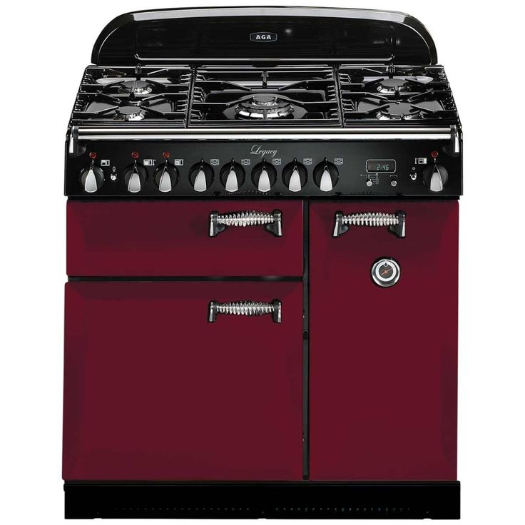 """This AGA Legacy 36"""" Dual Fuel Range out looks and out cooks other pro-style ranges. Boasting a versatile cooktop and flexible electric ovens"""
