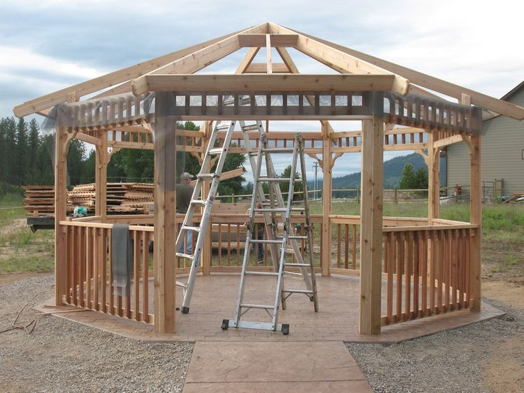 Parts Of Unique Gazebo Kits Ideas Content Which Is Sorted