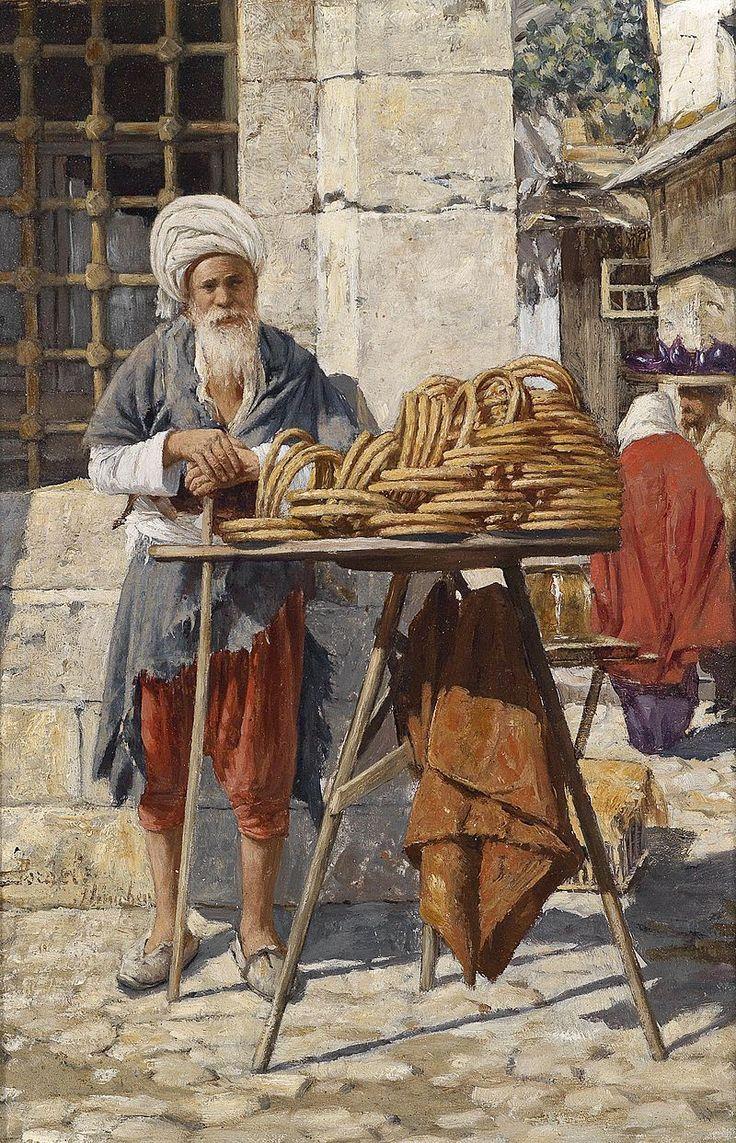 Daniel Israel Orientalische Strassenverkäufer.jpg