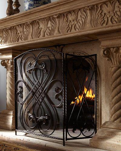 Effie Fireplace Screen