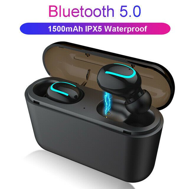 Bluetooth 5 0 Wireless Earbuds Earphones Headset Tws Stereo Headphones Hestia Earhook Wireless Sport Earbuds Earbud Headphones