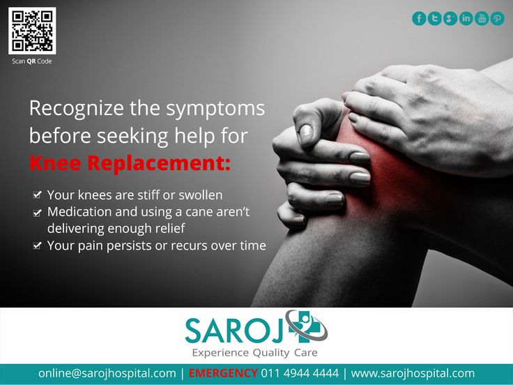 Recognizing the symptoms for a joint replacement surgery earlier in life is always beneficial. Read on to know about the significance of joint replacement procedure and its role in reducing pain. Visit - http://www.sarojhospital.com/orthopedic.html for more information.