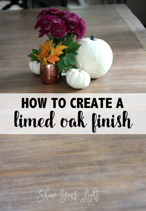 How To Lime A Dining Table - Shine Your Light