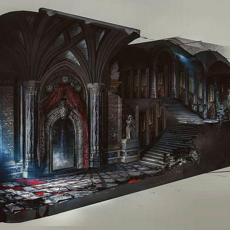 Draculas Castle interior Castlevania Lords of Shadow 2 DLC #castlevanialordsofshadow #castlevanialordsofshadow2 #michaelbroussardart #konami #vampire #horror #actionhorror #dracula #videogames #videogameart #conceptart #art #illustration #photoshop #conceptartist #artwork #michaelbroussard #castle #draculascastle #carmilla #artist #digitalart #castlevania #photooftheday #dragons #dragonscale #draculascastle #realeasethedragon #thedragon #belmont @konami @konamiuk @mercurysteam