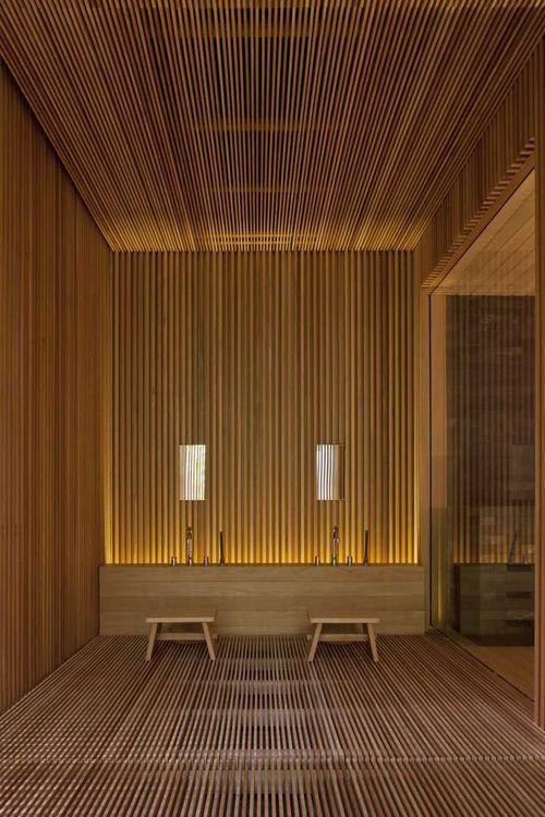 spa  gym center / design spirits co., ltd. | MdA · MADERA DE ARQUITECTO