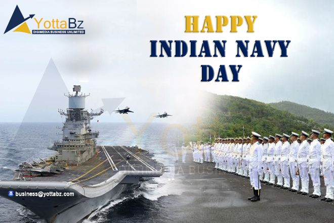 Let Us Celebrate Indiannavyday By Saluting All The Navy Men For Their Bravery Dedication And Patriotism Happy Ind Navy Day Indian Navy Day Indian Navy