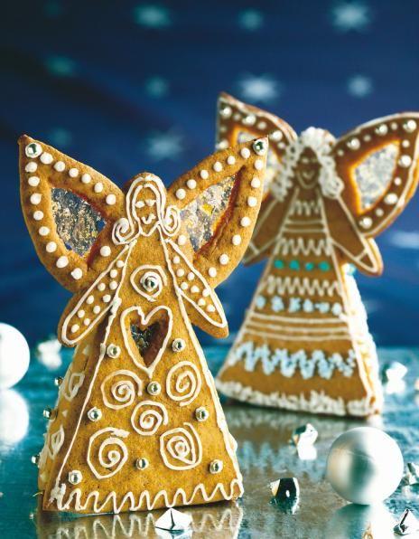 Gingerbread Angels How To's ~ Finnish Piparienkeli   Joulu   Pirkka