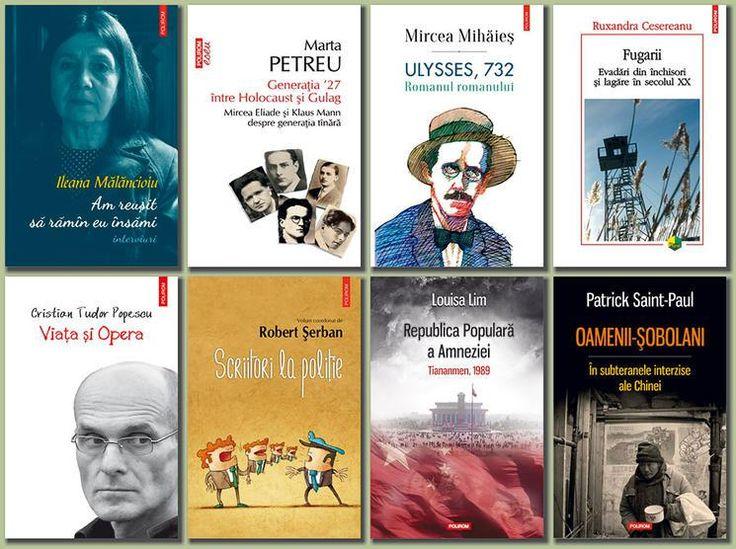 Polirom şi Cartea Românească la Gaudeamus 2016