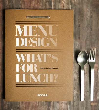 MENU DESIGN · Selected By Marc Gimenez