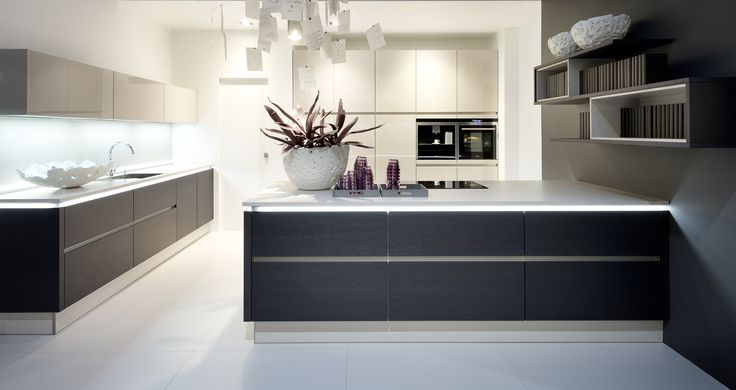 nolte #german #kitchen #inspiration #ideas #modern #contemporary - nolte grifflose küche