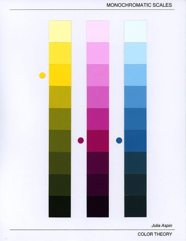 color value scales of primary color - Google Search
