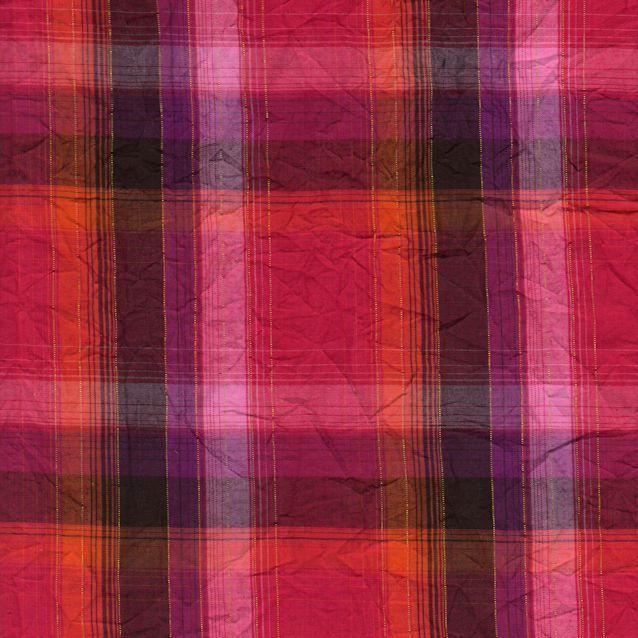 Distinctive Sewing Supplies - Yarn Dye Plaid Crinkle Shirting - Fuchsia Multi, $14.99 (http://www.distinctivesewing.com/yarn-dye-plaid-crinkle-shirting-fuchsia-multi/)