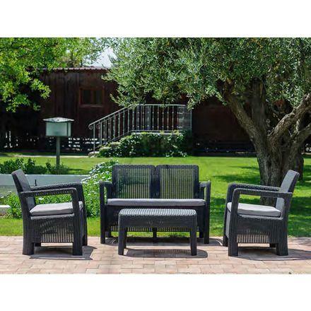 Conjunto resina tarifa cosas casa pinterest mobilier for Salon de jardin de resina de equilibrio