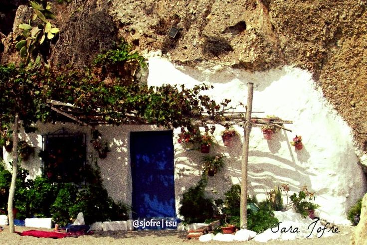 House in the rock on the beach, Nerja (2008)