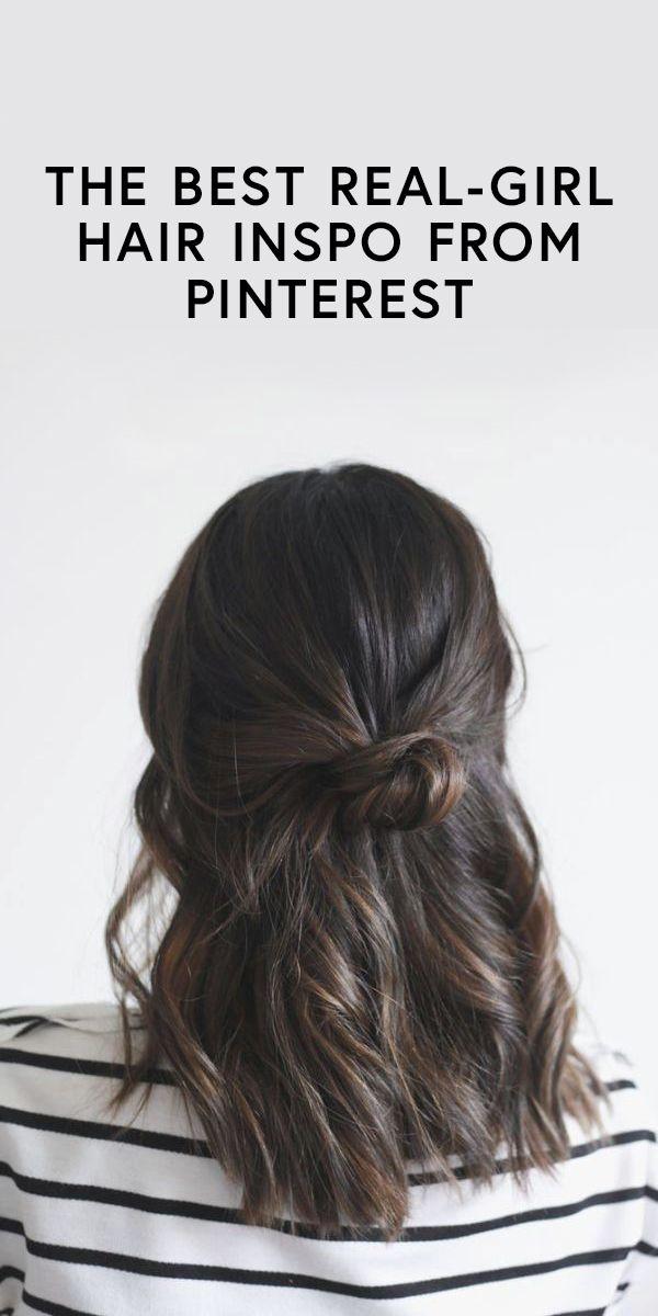 The best real-girl hair inspiration on Pinterest
