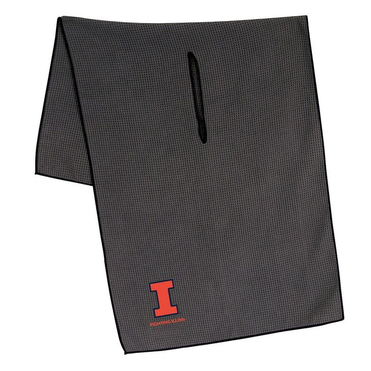 Illinois Fighting Illini Microfiber Golf Towel, Multicolor