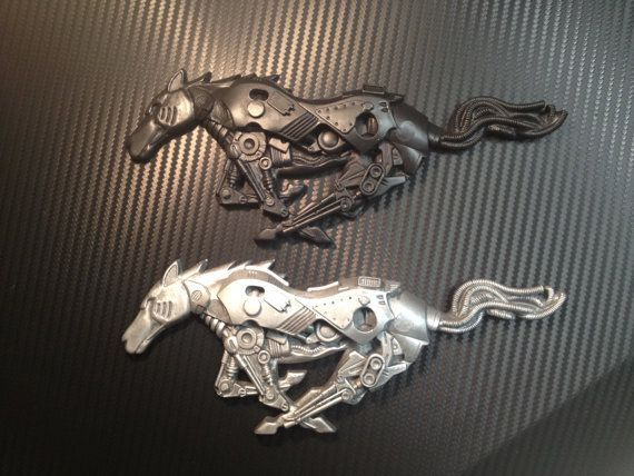 Nice Ford 2017: Ford Mustang Custom Pony Emblem 2005 to 2009 by hamRheadCreations, $40.00... mustang