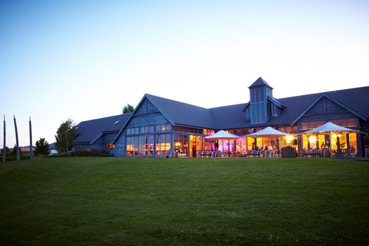 Wedding reception venue at Frogmore Creek Wines outside view