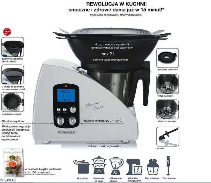 Thermomix silvercrest monsieur cuisine lidl robot 5854743294 wi cej ni aukcje - Monsieur cuisine plus vs thermomix ...