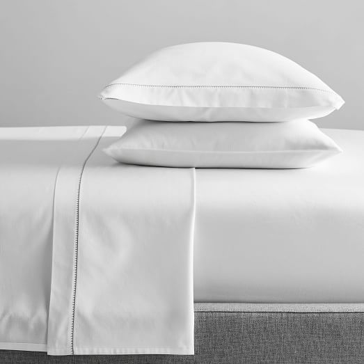 Organic Washed Cotton King Pillow Case, Set of 2, Pink Blush at West Elm – Bedding – Bed Sheet Sets – Bedroom Decor