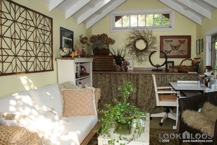13 best images about ideas for shed into guest space on for Shed office combo