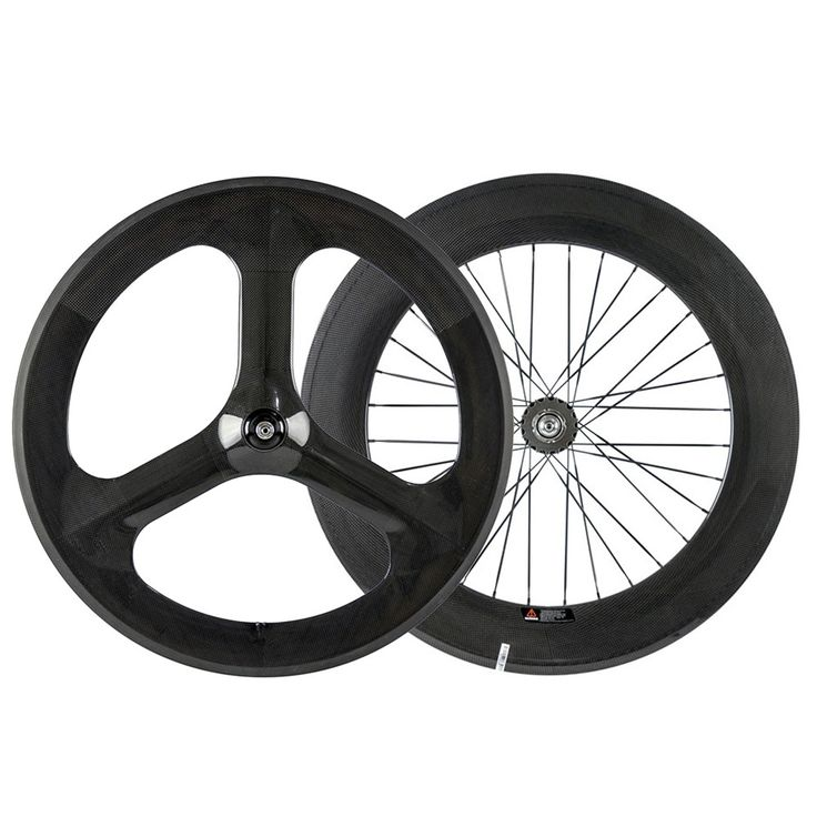 Chinese frente rodas de carbono 3 raios da roda traseira 88mm rodado para bicicleta de estrada de carbono tri falou roda em Roda de bicicleta de Sports & Entretenimento no AliExpress.com | Alibaba Group