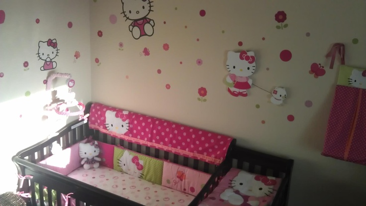 Hello kitty nursery | Cute future baby ideas | Pinterest