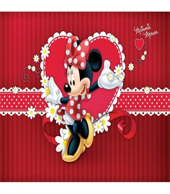 Fototapet din vlies Disney Minnie 208x146cm - Consalnet 4-015-VE-XL