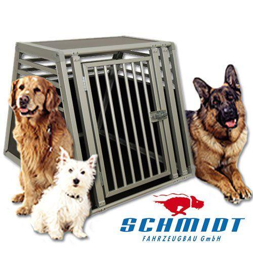 Aus der Kategorie Boxen & Tragetaschen  gibt es, zum Preis von EUR 301,00  <b>Die Hundebox vom Marktführer</b> <p> Sehr leicht und extrem stabil, das zeichnet die Schmidt-Box aus. Kein Klappern und kein Quietschen. Diese Hundebox bietet Ihrem vierbeinigen Freund seinen eigenen, sicheren Raum im Fahrzeug. Die Höhle zum wohlfühlen! Durch die ausschliessliche Fertigung in Deutschland und den Einsatz von hochwertigen Materialien wird diese Box zum absoluten Spitzenprodukt.<br> Durch ihr geringes…