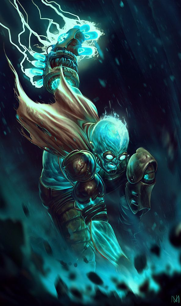 ArtStation - League of Legends - Ryze redesign, Nagy Norbert