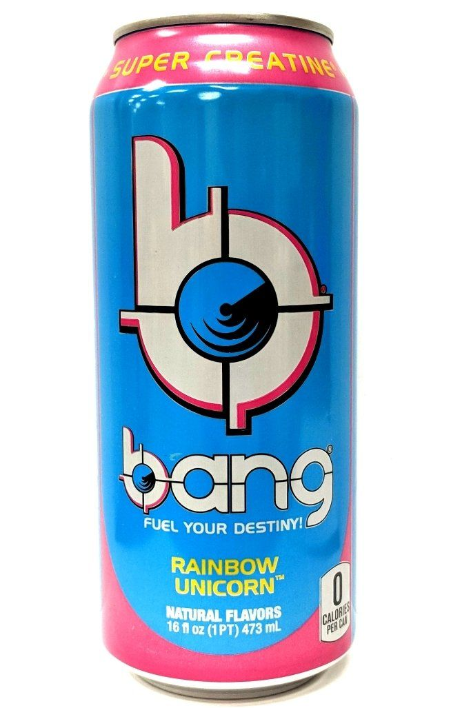 Bang Energy Drink Rainbow Unicorn Energy Drinks In