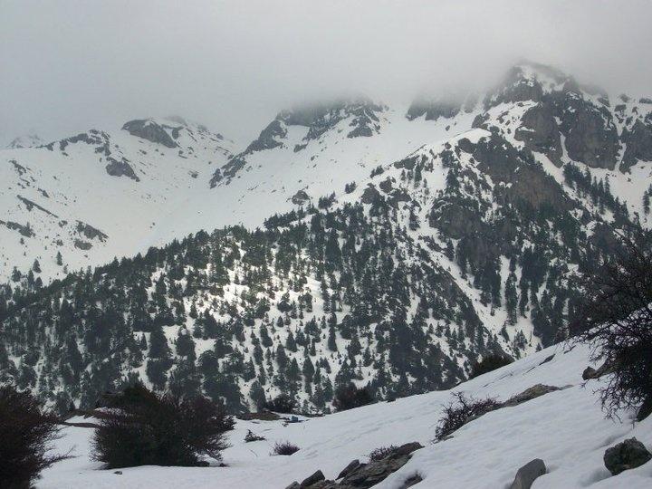 Trikala Korinthias - my first snowboarding attempt