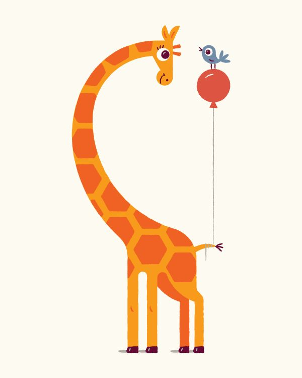 25 Best Ideas About Giraffe Illustration On Pinterest