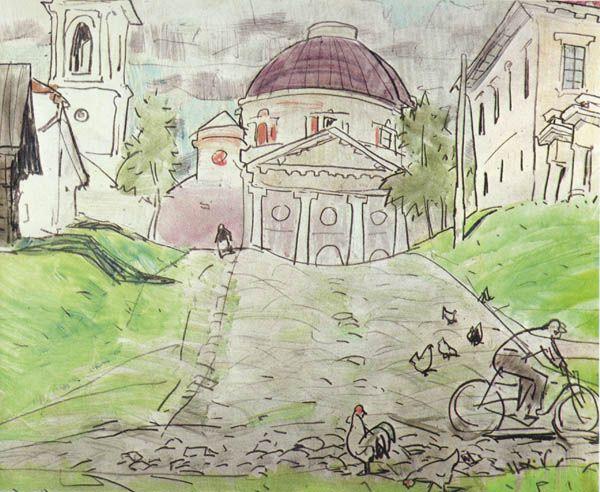 Музей рисунка - Анатолий Владимирович Кокорин, часть 2.