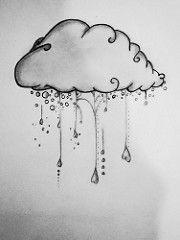 SAM_5314 (Beatri'z Andrade) Tags: cloud rain tattoo chuva gotas coração draw nuvem desenho tatuagem