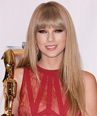 Taylor Swift Hairstyle: Formal Long Straight Hairstyle