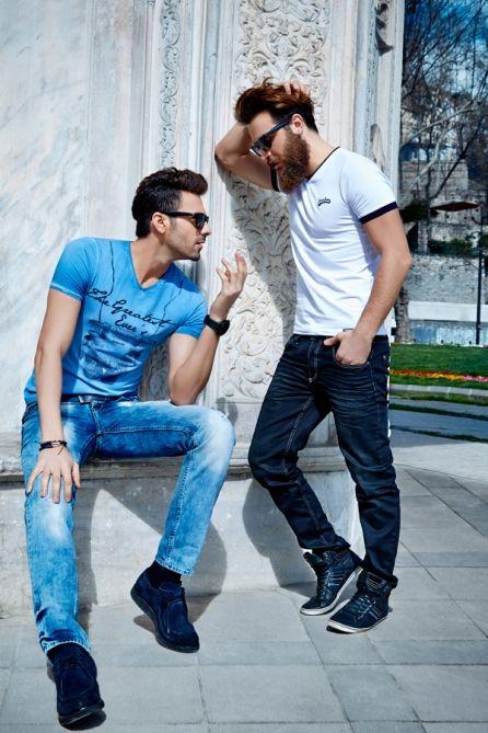 Мужские футболки liwali
