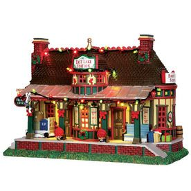 Carole towne 1 piece porcelain lighted musical east lake station